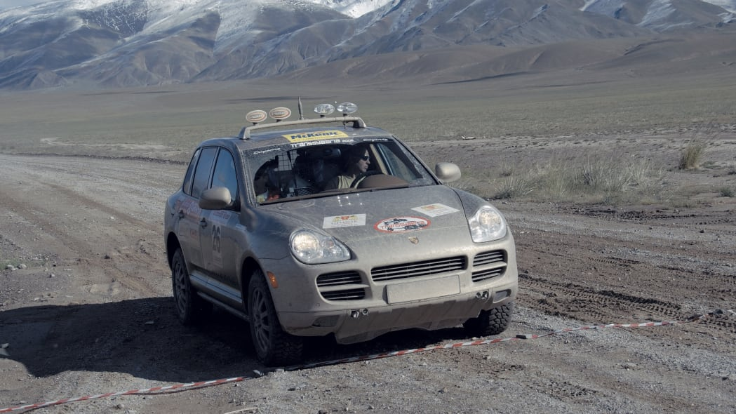 Porsche Cayenne S Transsyberia Rally