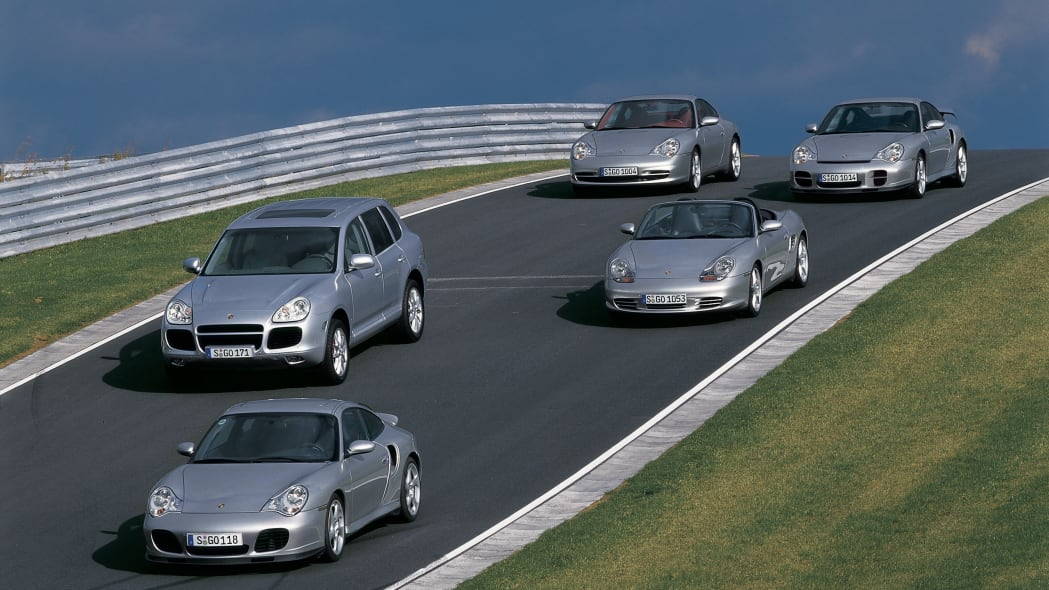 2002 Porsche line-up