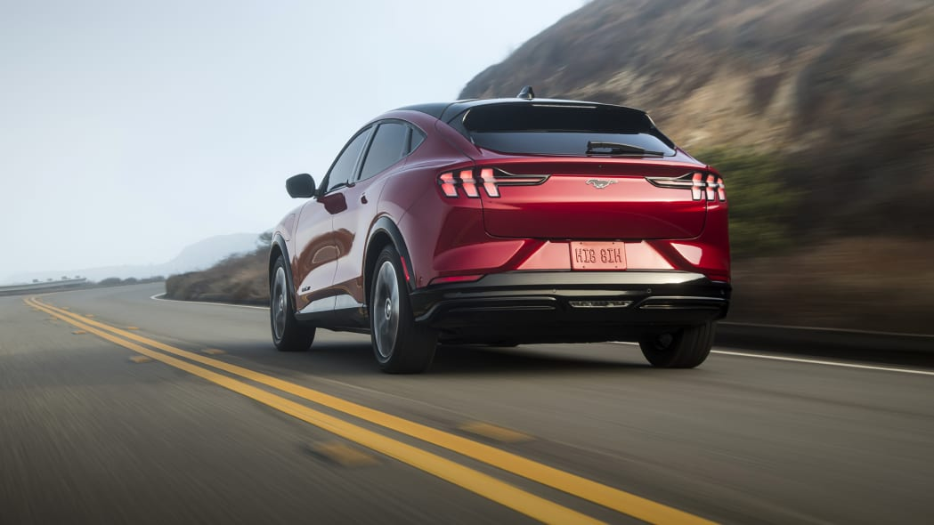 Mustang Mach-EFordPhoto: James Lipman