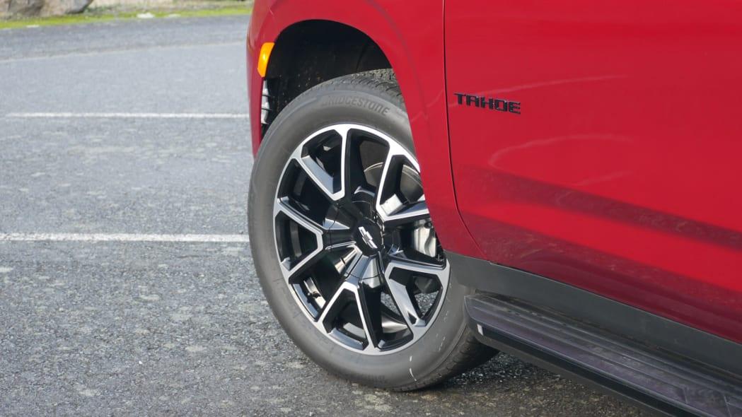 2021 Chevrolet Tahoe RST wheel