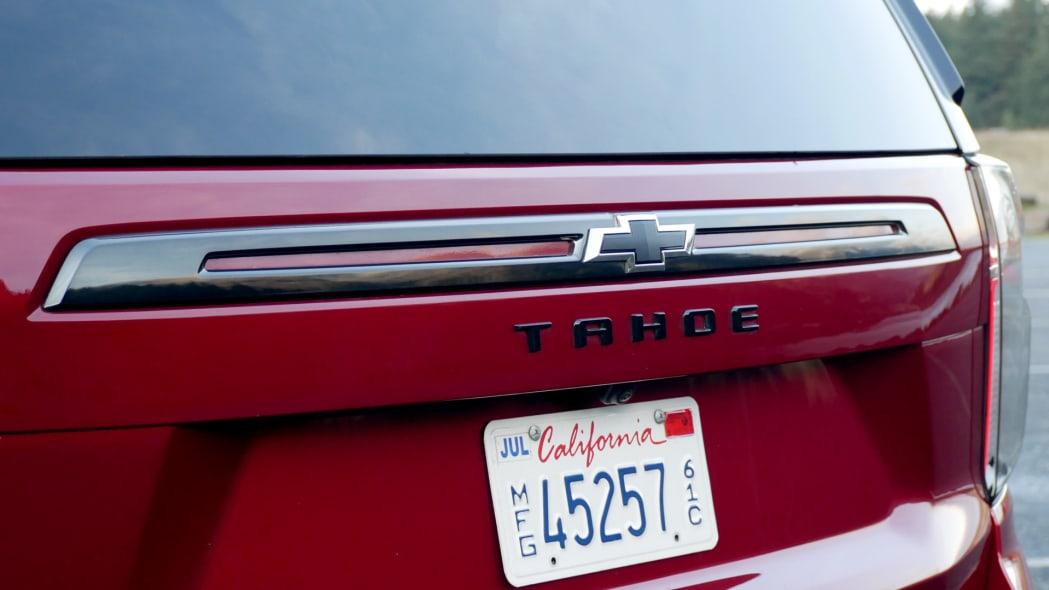 2021 Chevrolet Tahoe RST badge