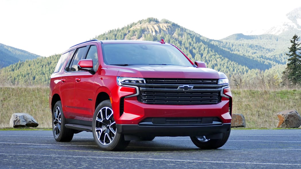 2021 Chevrolet Tahoe RST front