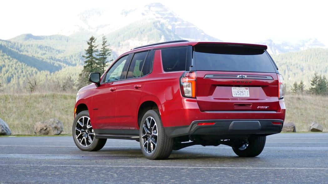 2021 Chevrolet Tahoe RST rear