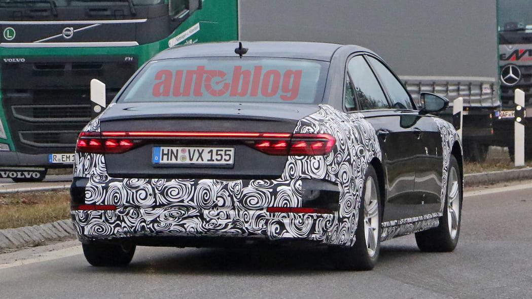 2022 Audi A8 prototype