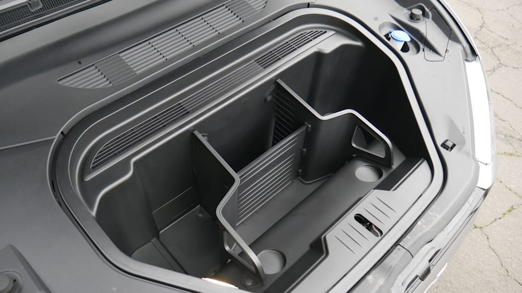 2021 Ford Mustang MachE luggage test frunk
