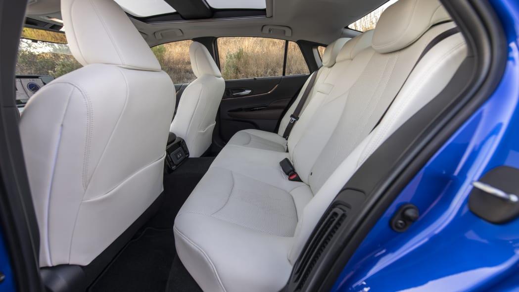 2021 Toyota Mirai back seat