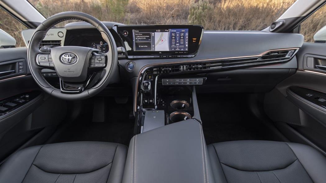 2021 Toyota Mirai interior black
