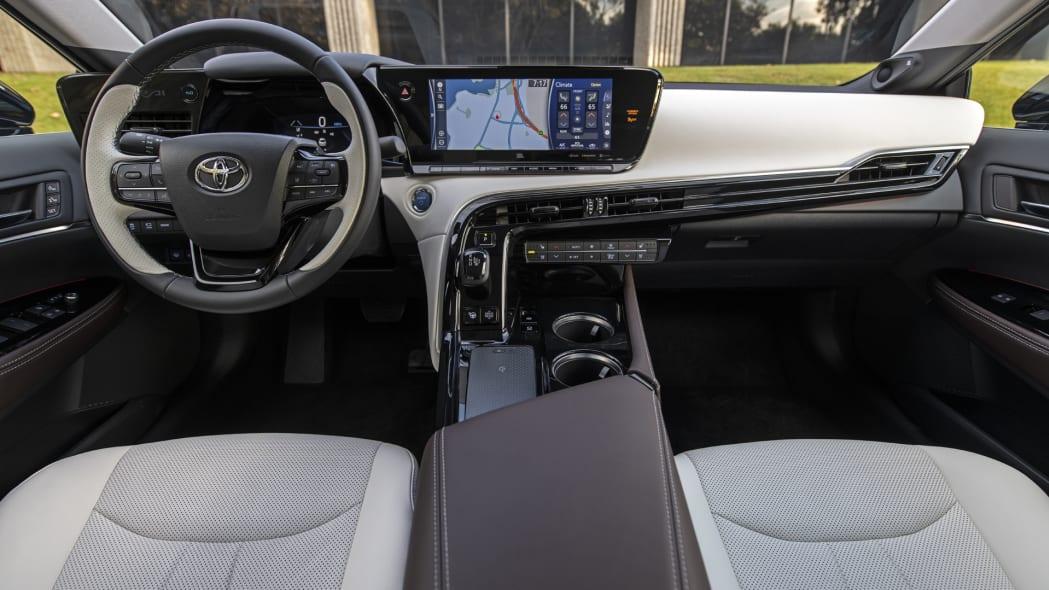 2021 Toyota Mirai two tone interior
