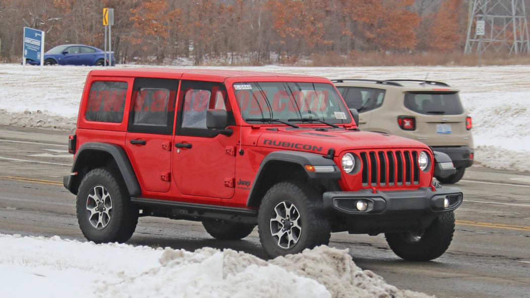 Jeep Wrangler half door