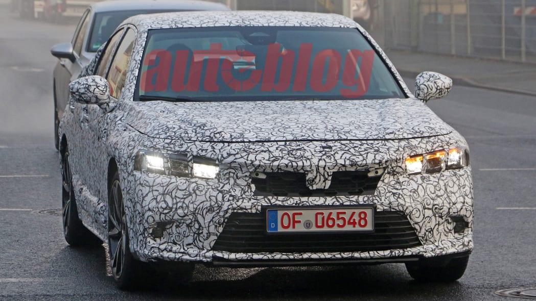 2022 Honda Civic Hatchback spy photo