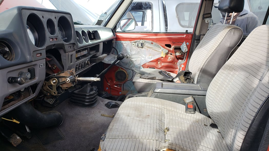 13 - 1987 Toyota Land Cruiser in Colorado Junkyard - photo by Murilee Martin