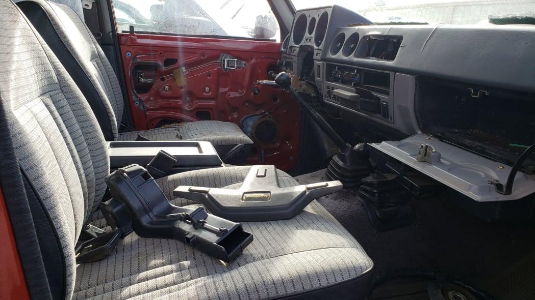 33 - 1987 Toyota Land Cruiser in Colorado Junkyard - photo by Murilee Martin