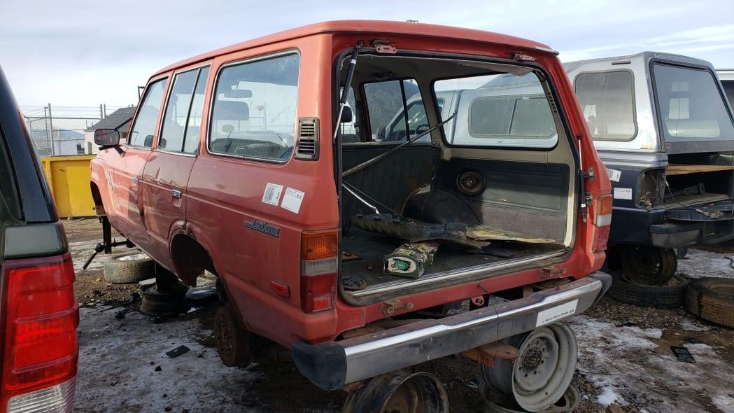41 - 1987 Toyota Land Cruiser in Colorado Junkyard - photo by Murilee Martin