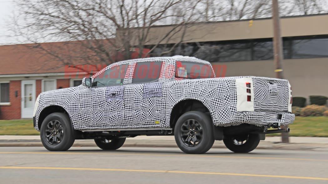 Ford Ranger spied
