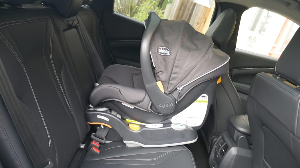 2021 Ford Mustang MachE infant car seat