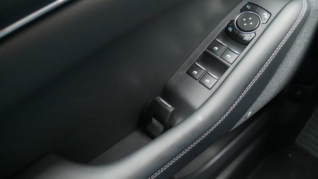 2021 Ford Mustang MachE interior door opening