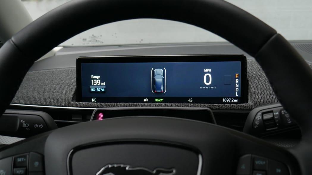 2021 Ford Mustang MachE ip black