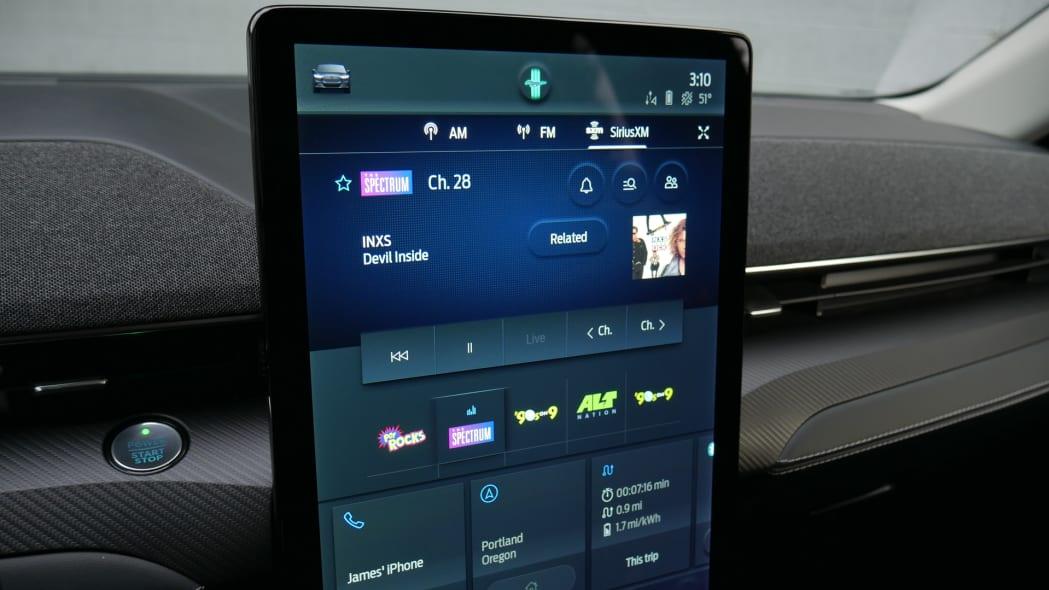 2021 Ford Mustang MachE satellite radio
