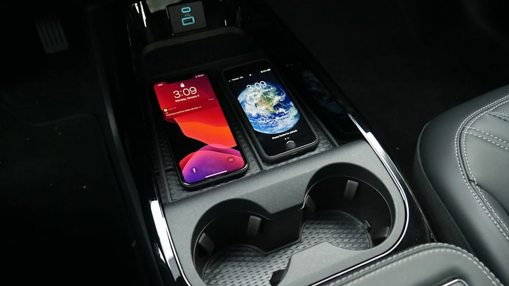 2021 Ford Mustang MachE wireless charger