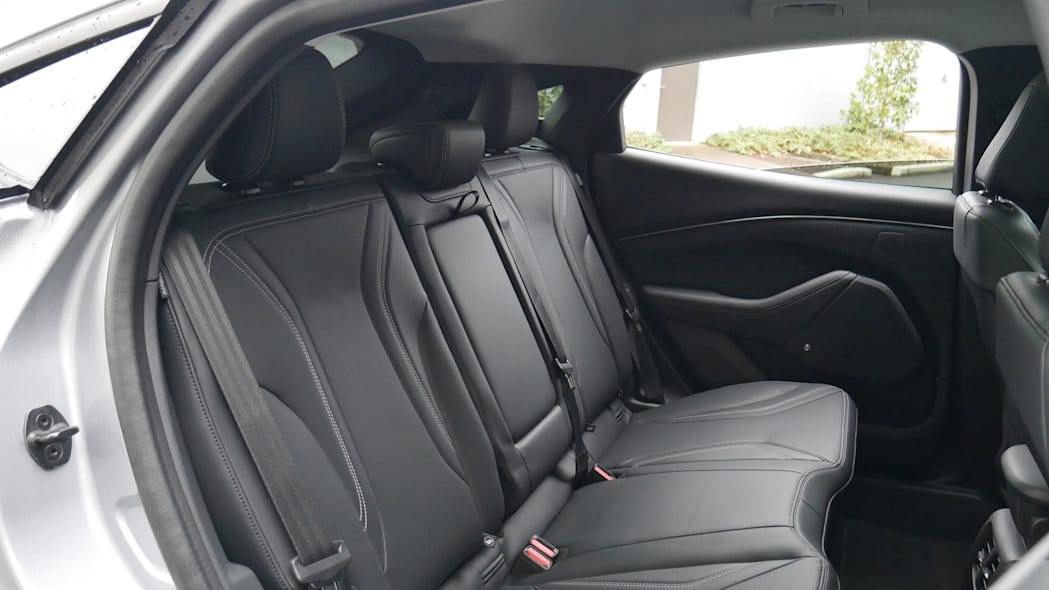 2021 Ford Mustang MachE back seat