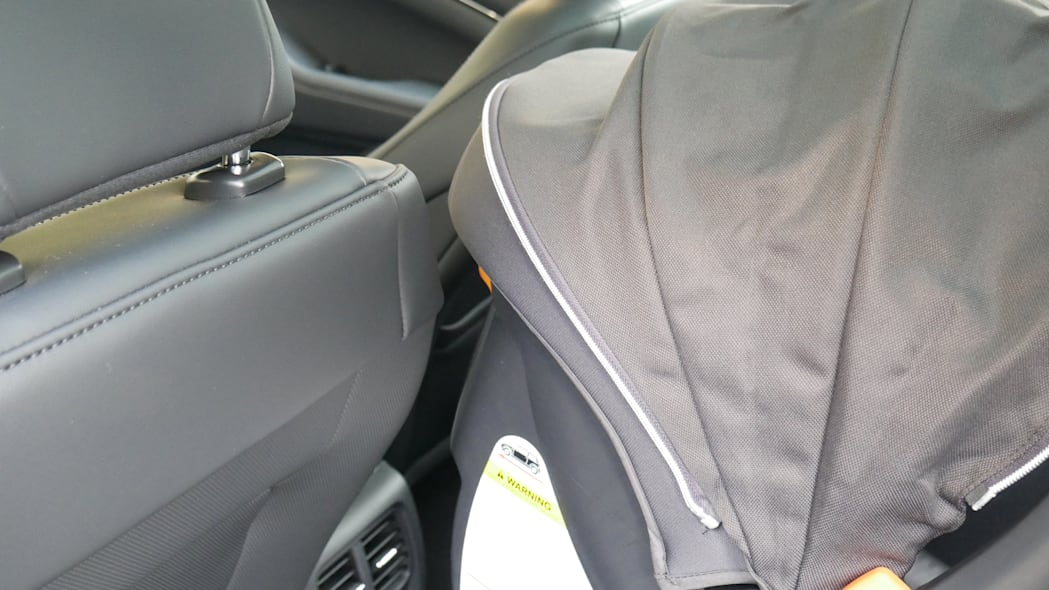 2021 Ford Mustang MachE car seat space