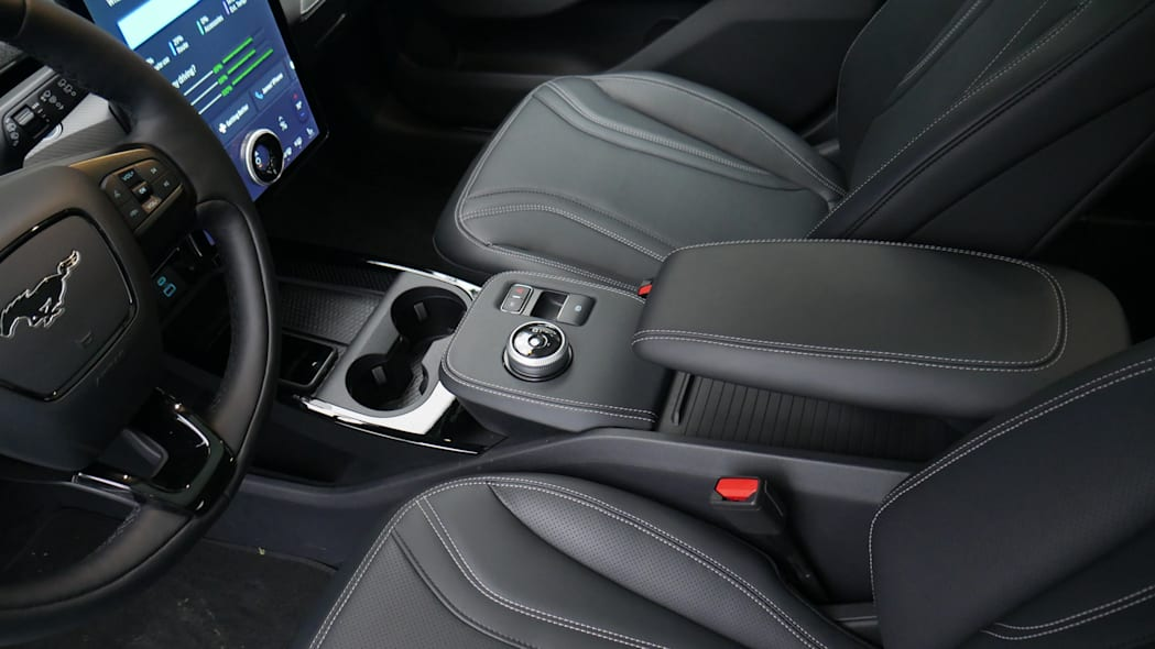 2021 Ford Mustang MachE center console