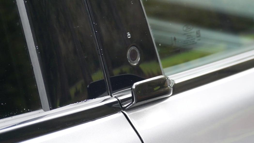 2021 Ford Mustang MachE door opening