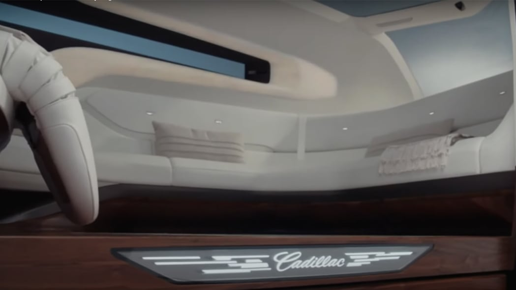 Cadillac PAV interior
