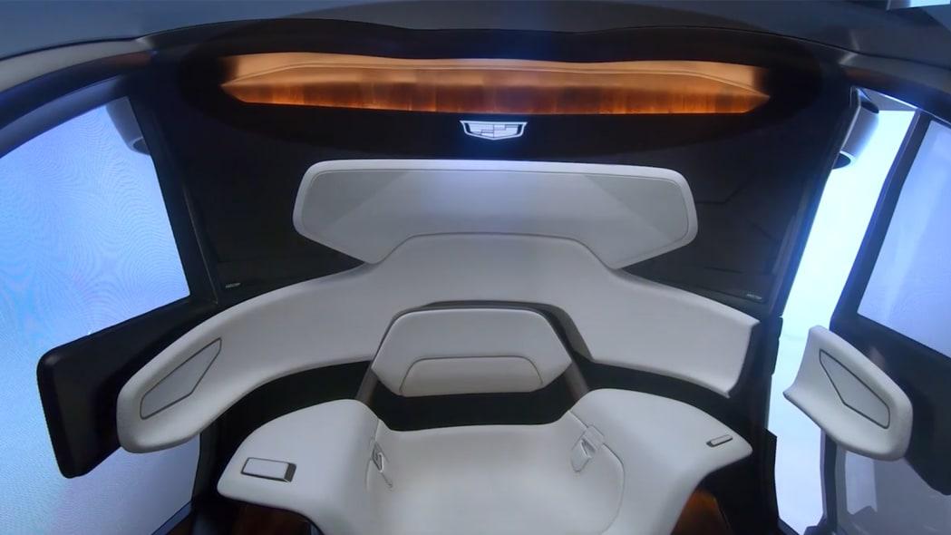 Cadillac VTOL interior