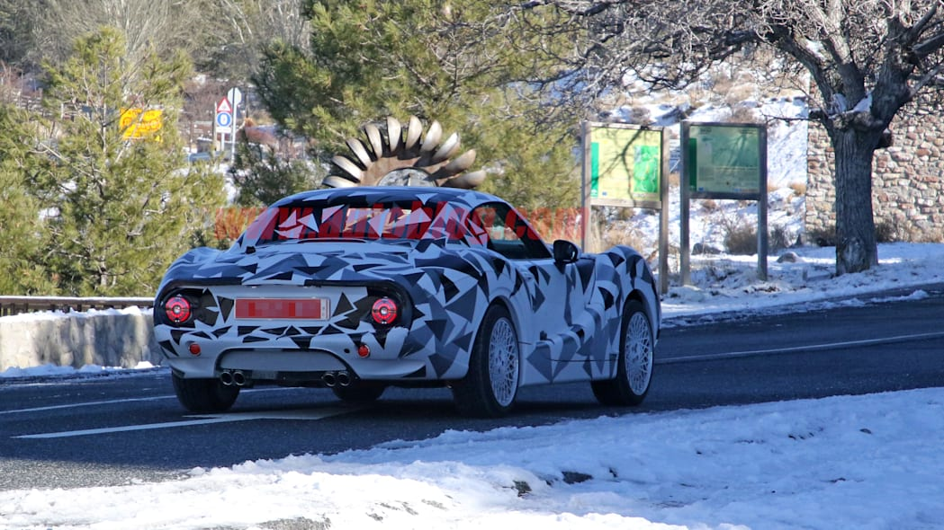 Hurtan coupe spied