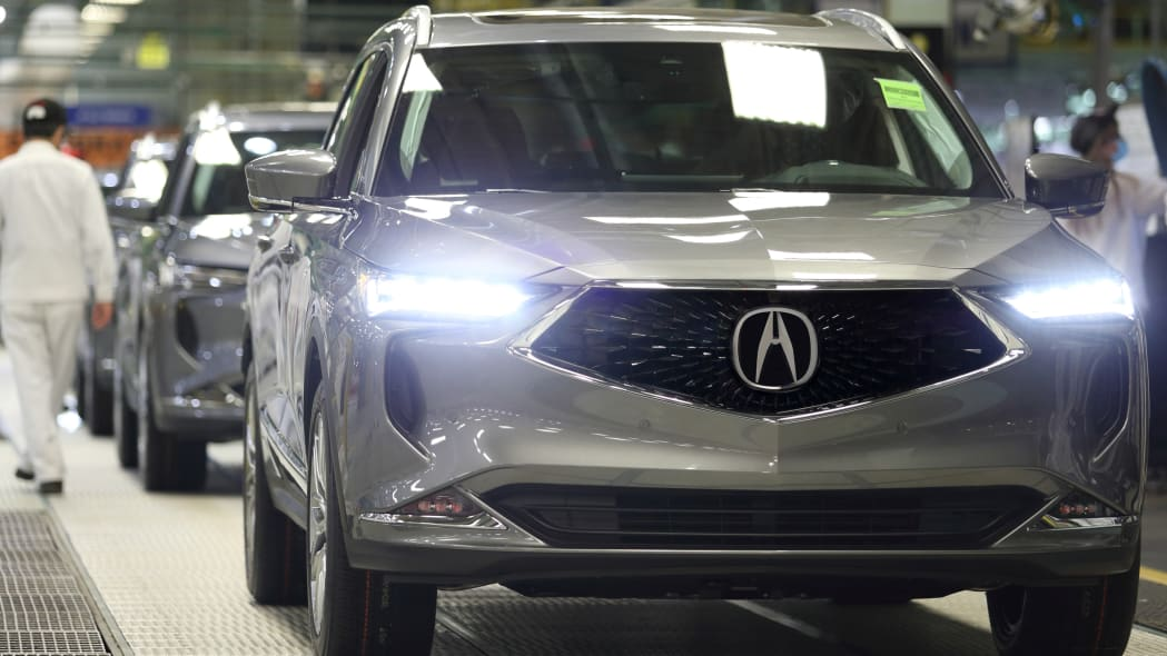 2022 Acura MDX production begins