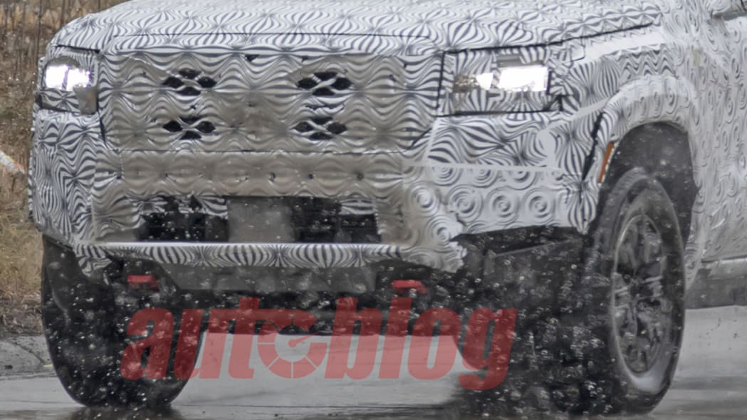 2022 Nissan Frontier King Cab spy photo