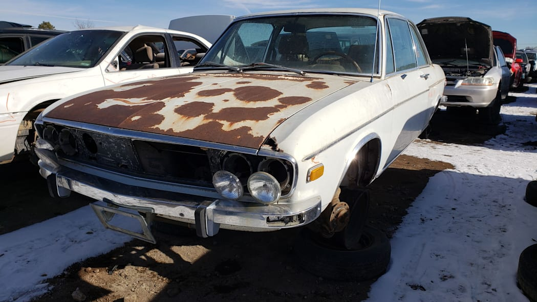 36 - 1970 Audi 100 LS in Colorado Junkyard - photo by Murilee Martin