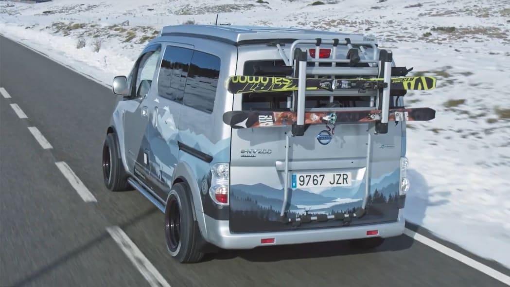 Nissan e-NV200 Winter Camper Concept