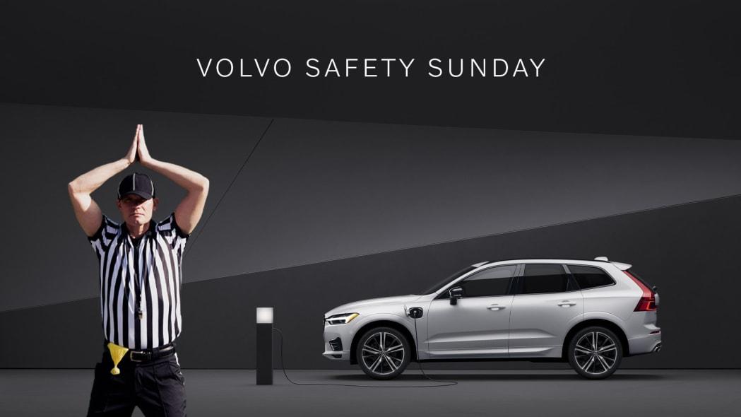 Volvo Super Bowl Sunday giveaway