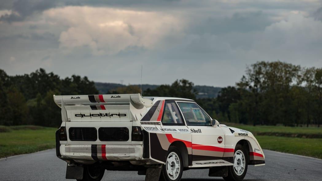Audi Quattro S1 Group B Rally Car Artcurial Auction 02