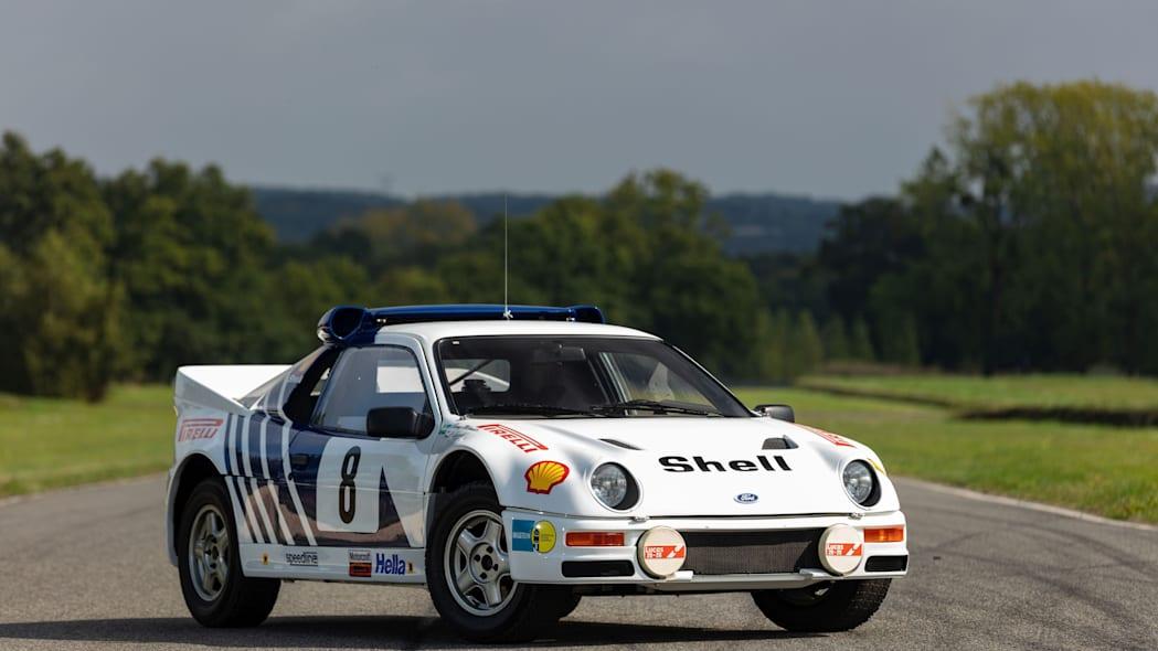 Ford RS200 Group B Rally Car Artcurial Auction 01