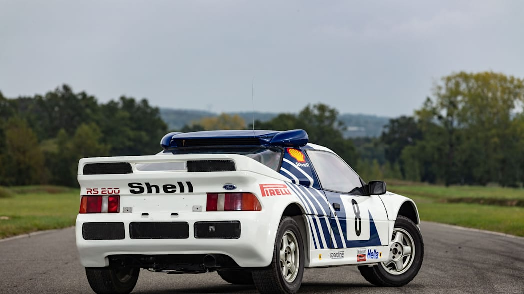 Ford RS200 Group B Rally Car Artcurial Auction 02