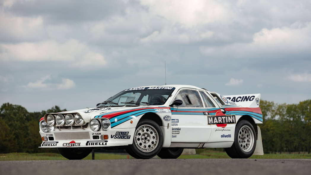 Lancia 037 Group B Rally Car Artcurial Auction 01