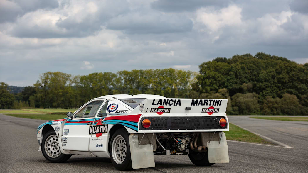 Lancia 037 Group B Rally Car Artcurial Auction 02