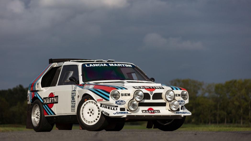 Lancia Delta S4 Group B Rally Car Artcurial Auction 01