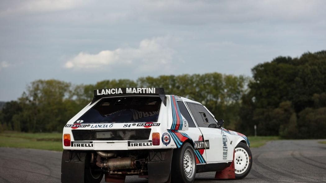 Lancia Delta S4 Group B Rally Car Artcurial Auction 02