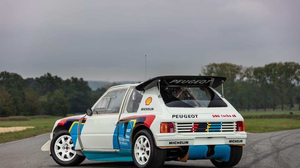 Peugeot 205 T16 Group B Rally Car Artcurial Auction 02