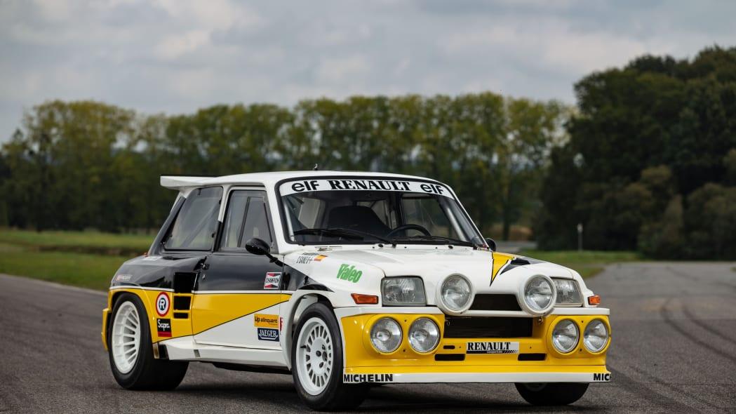 Renault 5 Maxi Group B Rally Car Artcurial Auction 01