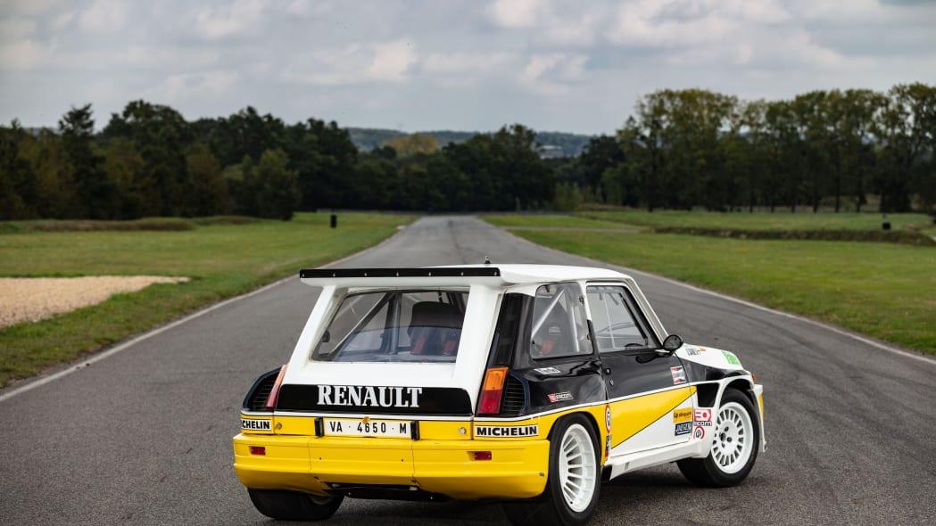 Renault 5 Maxi Group B Rally Car Artcurial Auction 02