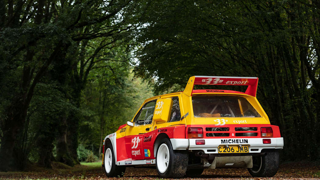 MG Metro 6R4 Maxi Group B Rally Car Artcurial Auction 01