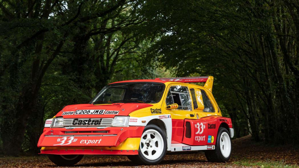 MG Metro 6R4 Maxi Group B Rally Car Artcurial Auction 02