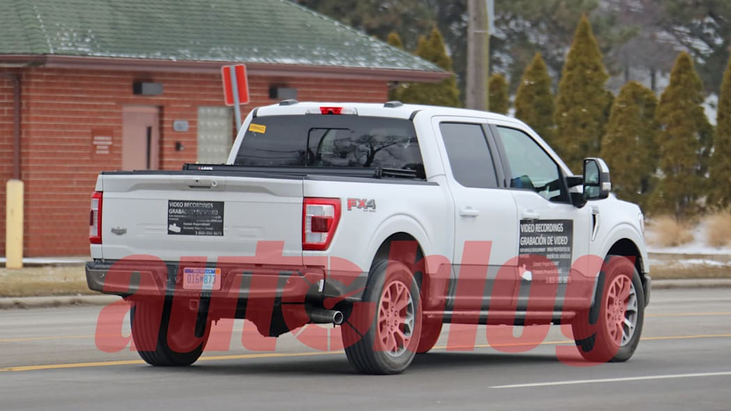 Ford F-150 magnetic paint spy shot