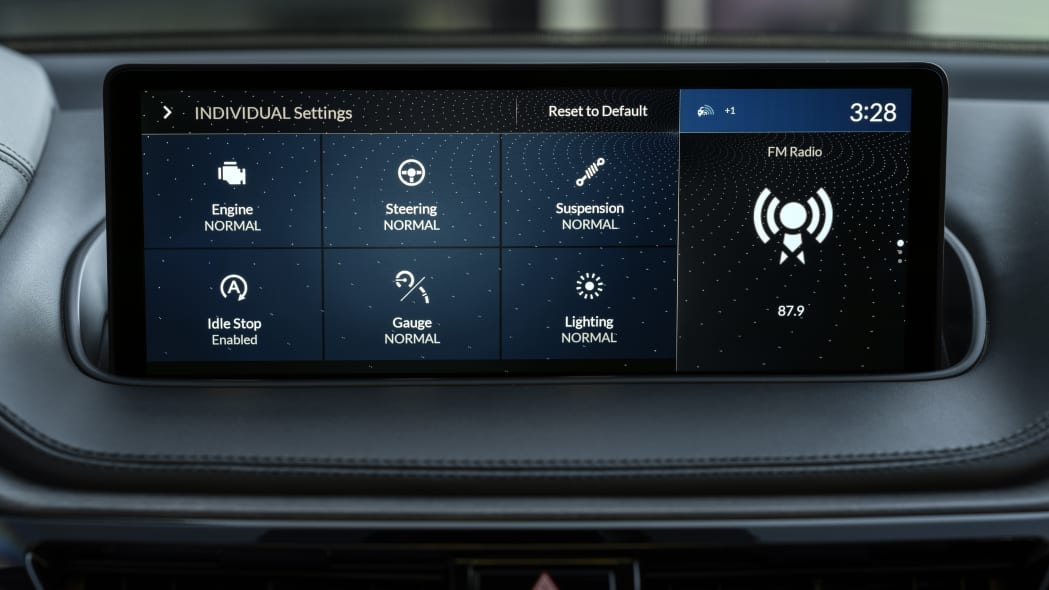 2022 MDX Advance Individual Mode