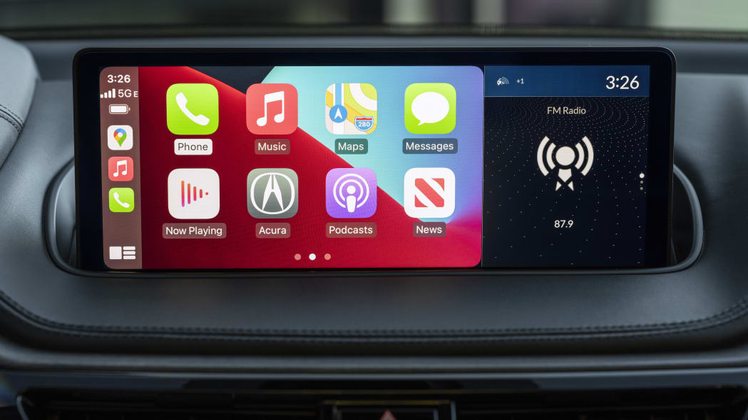 2022 MDX Advance Wireless Apple CarPlay
